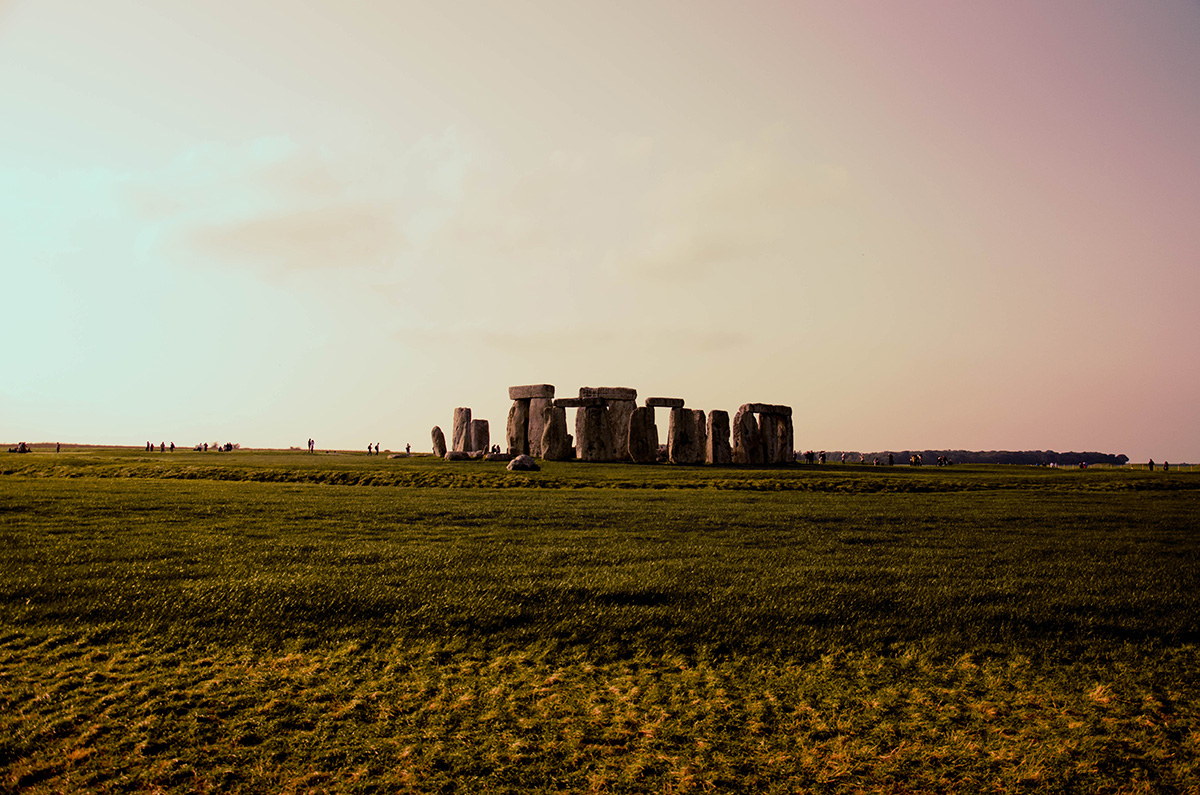 Stonehenge view Great Britain